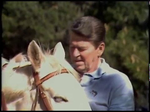 The Reagan's Arrival to Point Mugu NAS and then Rancho Del Cielo on February 13-16, 1985