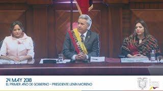 El primer año de Gobierno - Presidente Lenín Moreno. thumbnail