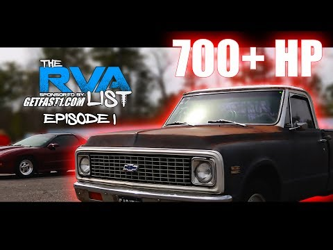 The RVA List 2017 Episode 1 The Fastest Street Cars in Virginia