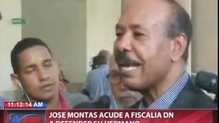 José Montás acude a Fiscalía DN a defender su hermano Temístocles