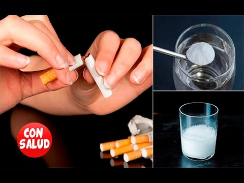 QUIERES DEJAR DE FUMAR? ESTA CURA FÁCIL TE SORPRENDA!
