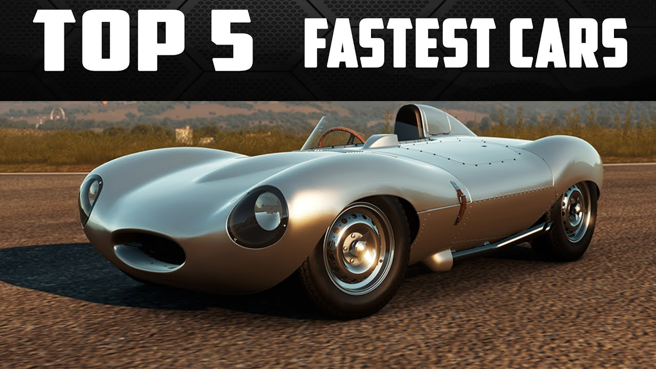 TOP 5 FASTEST CARS IN FORZA HORIZON 3
