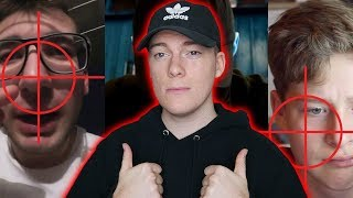🔪 ATTACKE: 5 YouTuber DISSEN by Raportagen (prod. by (Black Rose Beatz) Reaction/Reaktion