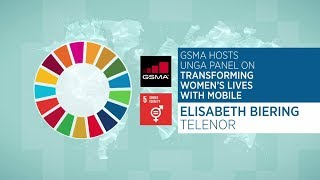 UNGA Panel: Elisabeth Biering