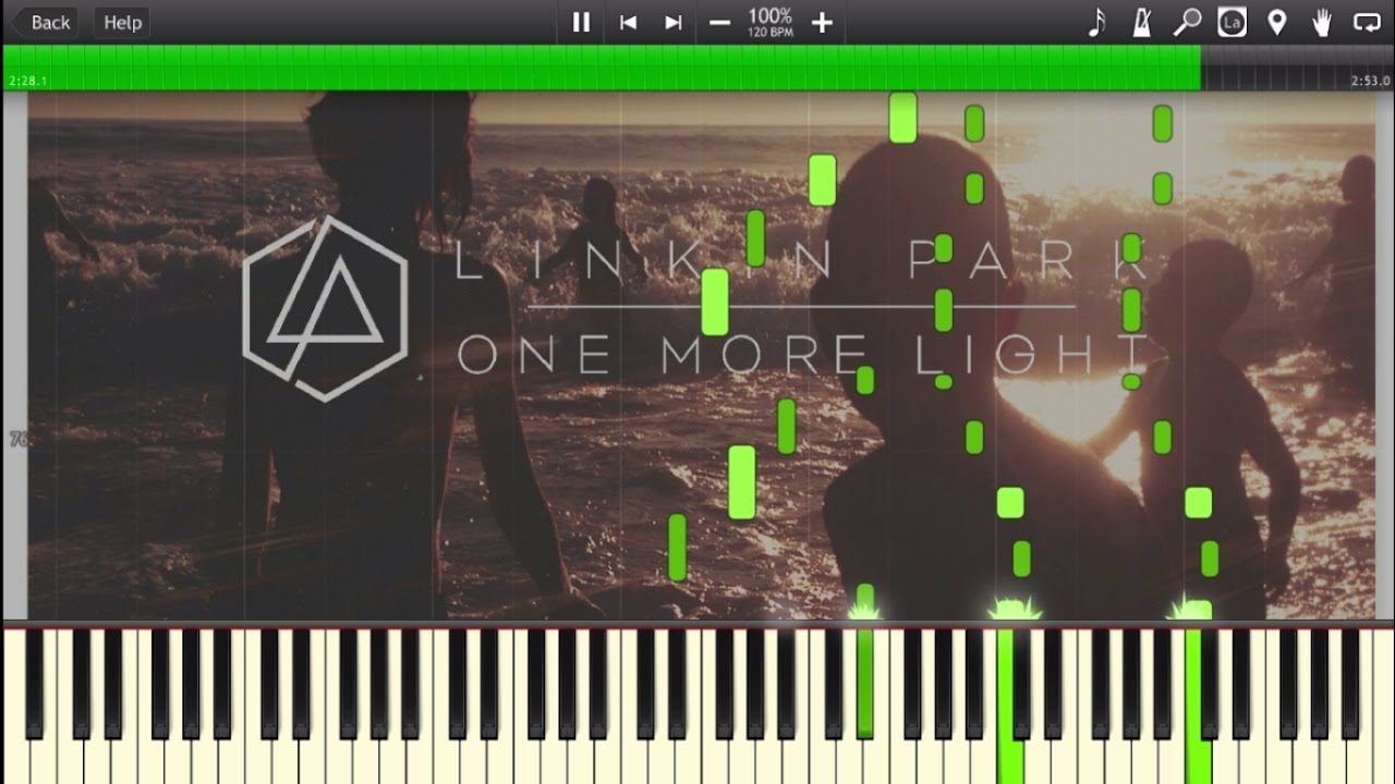 One More Light Linkin Park Piano Cover Tutorial Chords Chordify