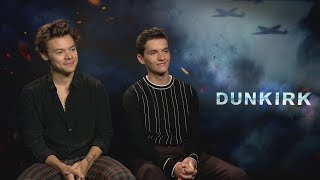 DUNKIRK: Harry Styles & Fionn Whitehead tried method acting with corned beef