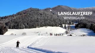 Wintertreff Prolling:  Langlaufzauber im Ybbsitzer Winterdesign