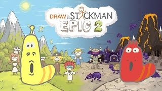 Draw A Stickman Epic 2 - Walkthrough Chapter 1 - A Sticky Situation