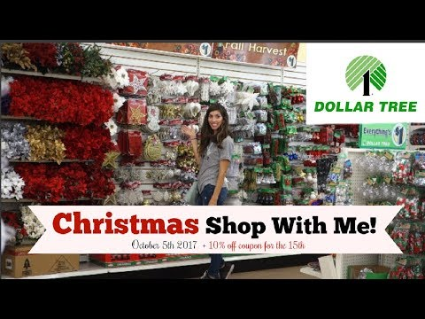 DOLLAR TREE Shop With Me CHRISTMAS 2017   New Finds Christmas Decor   Momma from scratch