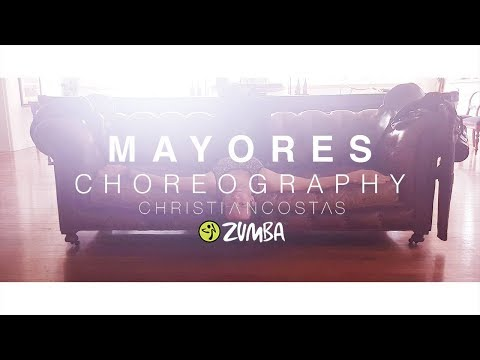 Becky G ft. Bad Bunny - Mayores | Zumba Choreography by Christian Costas