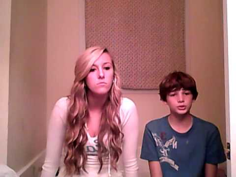 """Me and My 11 year old brother Malachi singing our cover of """"Titanium"""""""