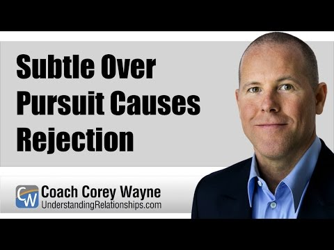 Subtle Over Pursuit Causes Rejection