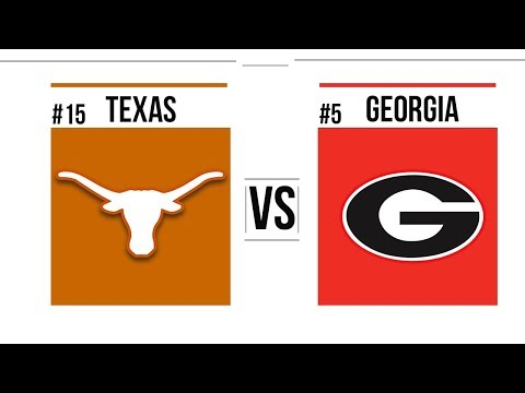 2018 Sugar Bowl #15 Texas vs #5 Georgia Full Game Highlights