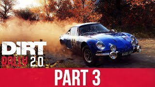DiRT RALLY 2.0 Gameplay Walkthrough Part 3 - I SCREWED UP !!! (Rally Career)