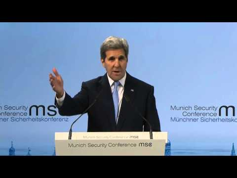 Secretary of State John Kerry Delivers Remarks at the Munich Security Conference