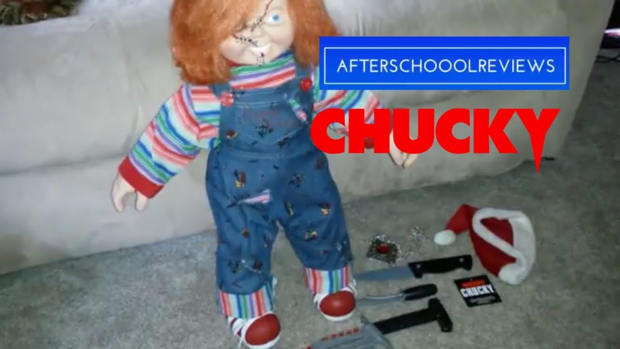 Life Size Chucky Doll From Spencers Youtube