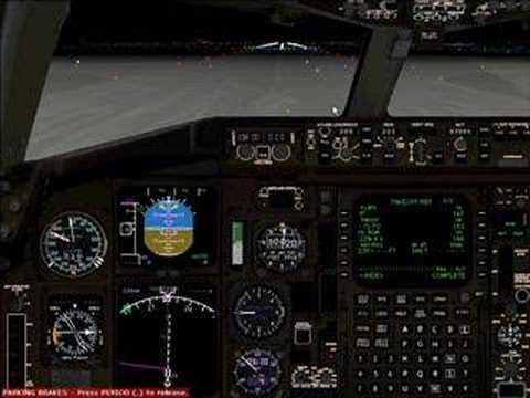 B767-300ER departing KJFK rwy 22R. Air Afrique Virtuelle