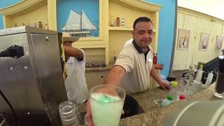 Бар бесплатно-платный бассейн/пляж Movenpick Resort & Marine Spa 5* Тунис
