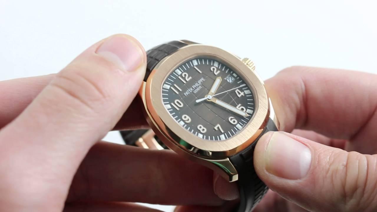Patek Philippe Aquanaut 5167r Luxury Watch Review Youtube