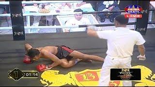Phoung Piseth vs Than Bunrong, Khmer Boxing Seatv 21 Jan 2018