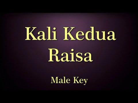 Kali Kedua Raisa Karaoke Male Key