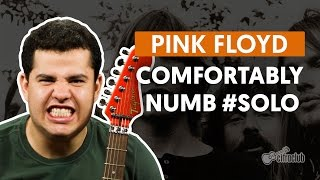 Comfortably Numb - Pink Floyd (How to Play - Guitar Solo Lesson)