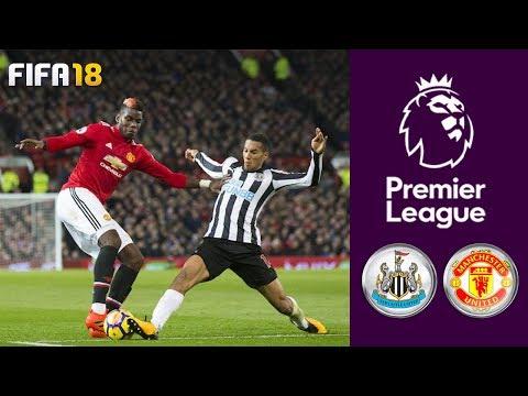 Newcastle United vs Manchester United ᴴᴰ 11.02.2018 - Premier League   FIFA 18