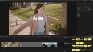 mTransition Text FCPX Plugin TUTORIAL - Textual Transitions for Final Cut Pro X - MotionVFX
