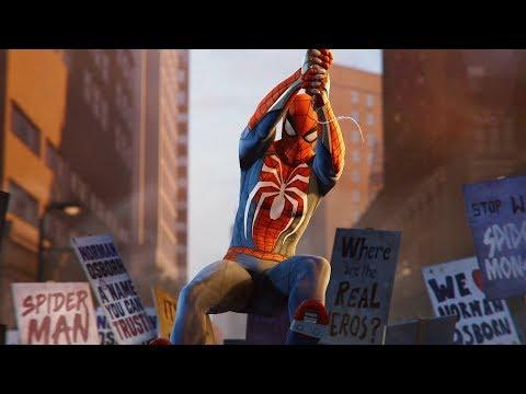 """Spiderman PS4 - Otto Releases """"Devil's Breath"""" Over Manhattan"""