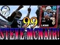 99 Steve McNair Is Juicing Bruh! The SWERVE GOD Gets Exposed? | Madden 17 Ultimate Team Gameplay