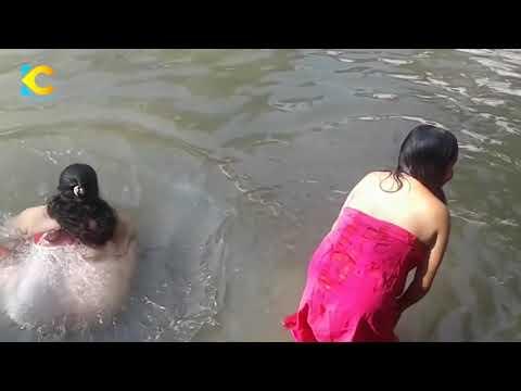 Holy Bath Of Nepali Womean Unseen And Wild Sali Nadi Nepal 2075