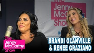 Brandi Glanville and Renee Graziano on The Jenny McCarthy Show