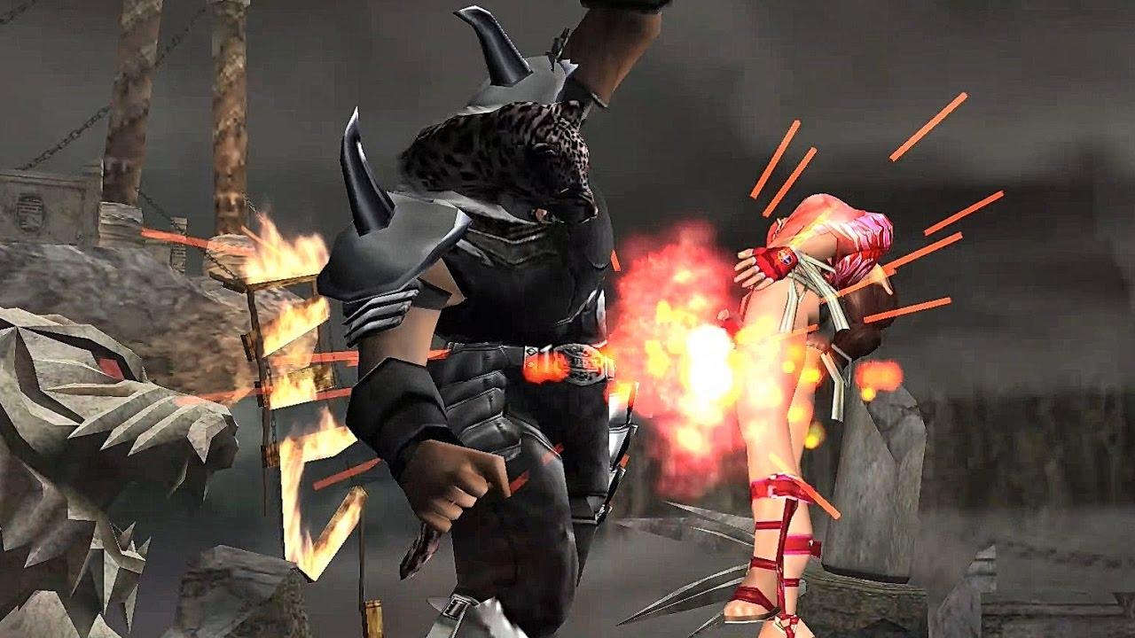 Tekken 5 Dark Resurrection Armour King With Devil Jin S Moves