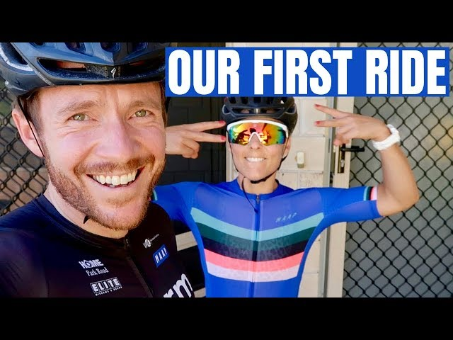 A Special Husband & Wife Moment (Our first bike ride together)