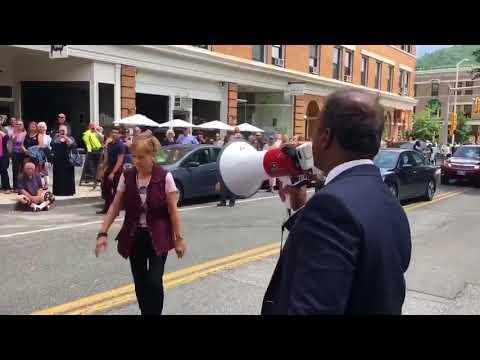 Dr. Shiva Ayyadurai Attacked by a Racist Elizabeth Warren Supporter