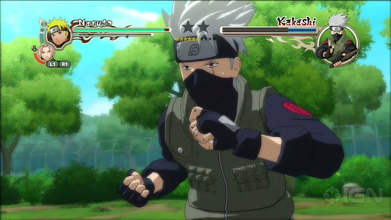 Naruto shippuden: ultimate ninja storm 3 full burst gameplay 2.