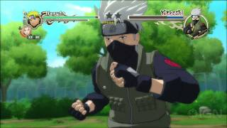 Naruto Shippuden: Ultimate Ninja Storm 2 Gameplay