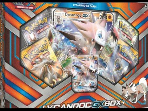 cards lycanroc gx box scizor ex box and more