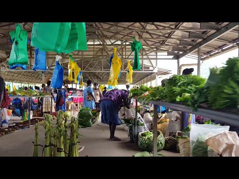 Bougainville, Papua New Guinea - Arawa Market in 2018