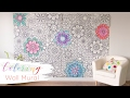 Brewster Home Fashions Coloring Murals