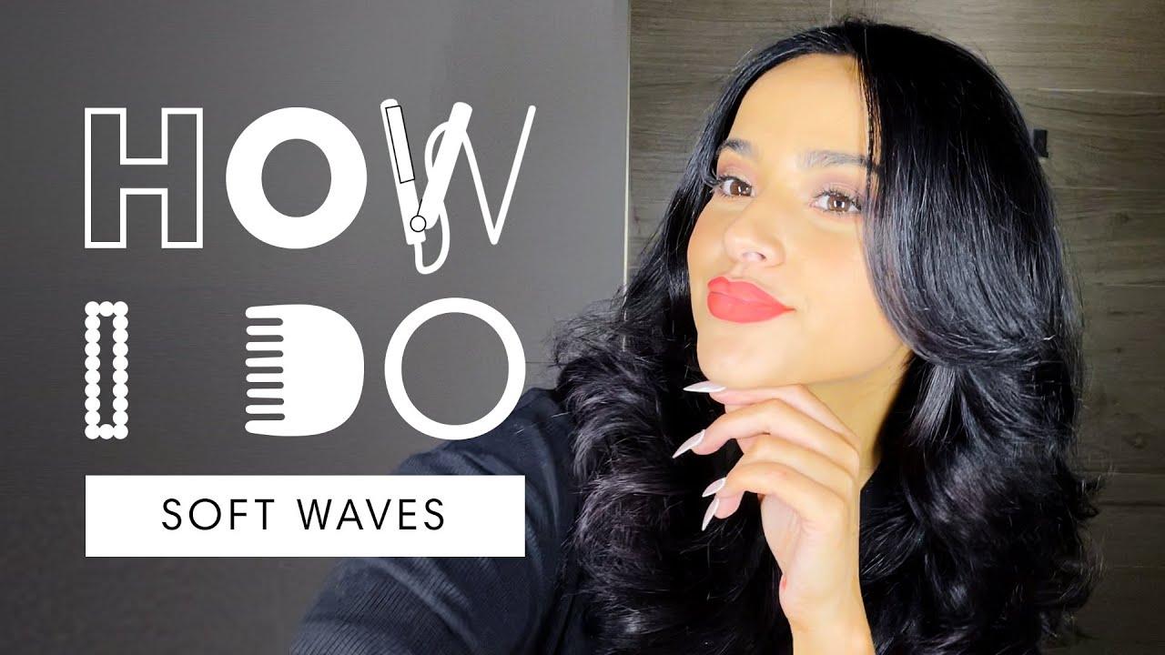 Becky G's Soft Waves Hair Tutorial | How I Do | Harper's BAZAAR