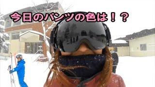 天然雪だ!初滑りツアー@焼額山スキー場【シュナイダー】 雪庭ch