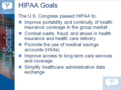free online hipaa training demo for privacy security rule compliance ...