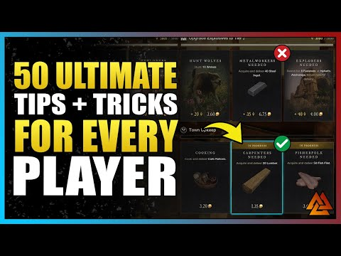 50+ Tips that EVERY New World Player Needs to Know!