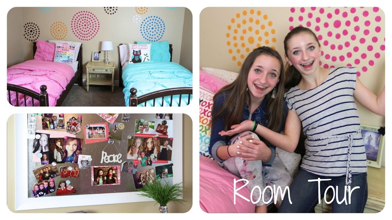 Teen Girl Room teen girl room tour | brooklyn and bailey - youtube