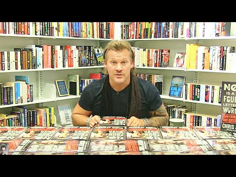 Chris Jericho Book Signing and Interview | No Is a Four-Letter Word