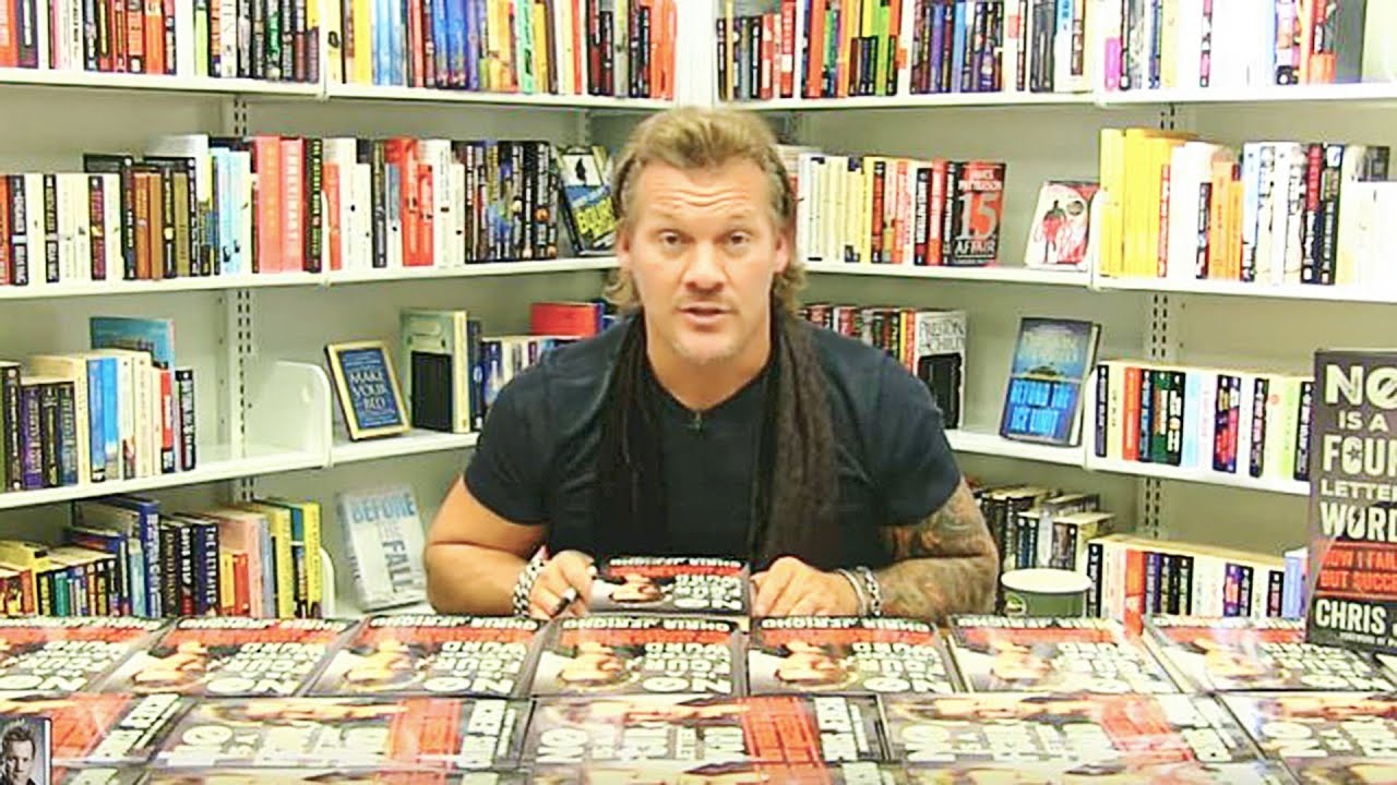 Chris Jericho Book Signing and Interview | No Is a Four Letter