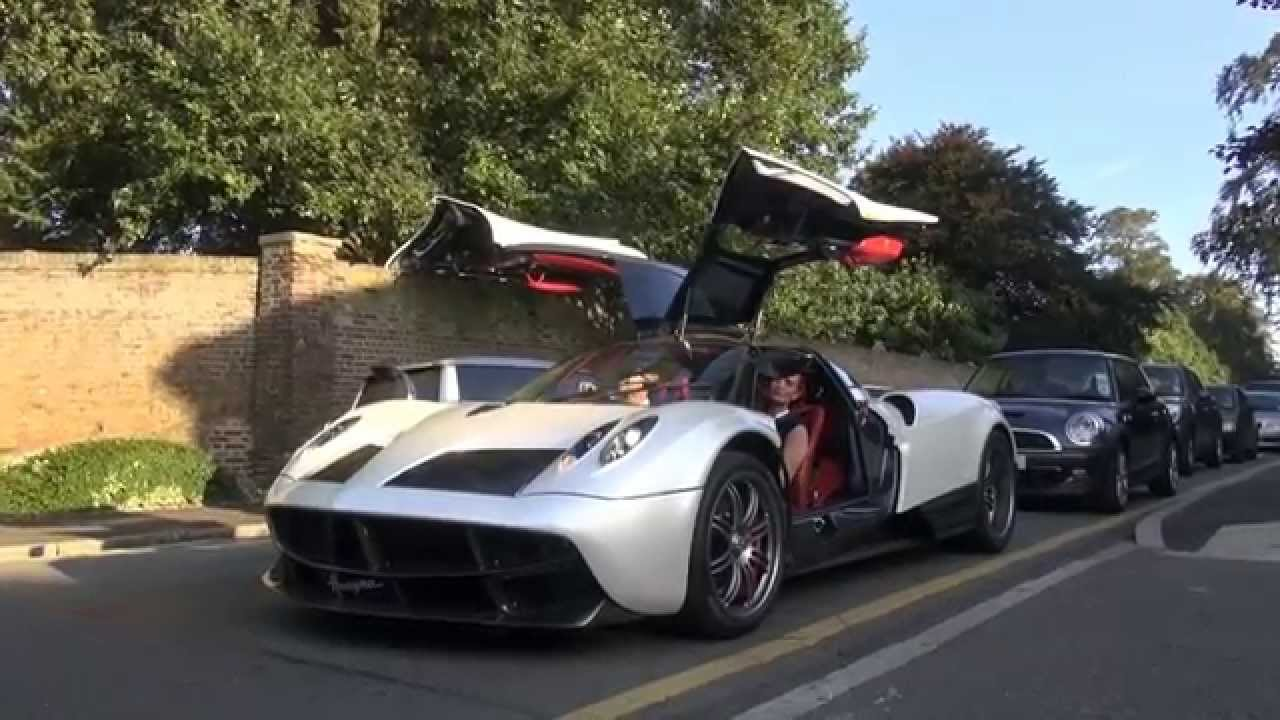 pearl pagani huayra driving acceleration youtube. Black Bedroom Furniture Sets. Home Design Ideas