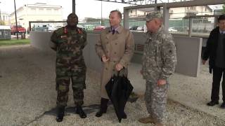 Uganda Land forces Commander visits U.S. Army Africa