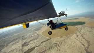 Ultra Light Flight  Across The Desert